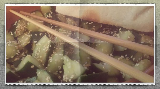 Trümmergurkensalat